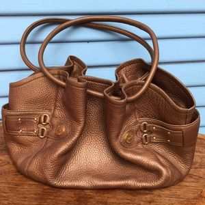 Cole Haan Medium Golden Hobo Bag